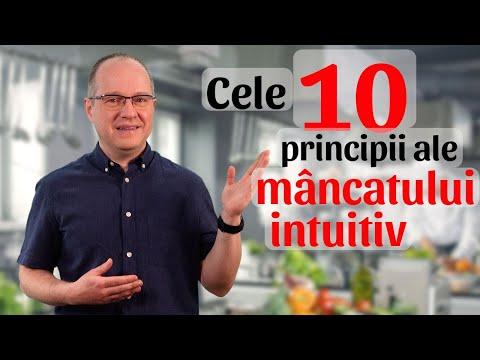 Cele 10 principii ale mâncatului intuitiv!