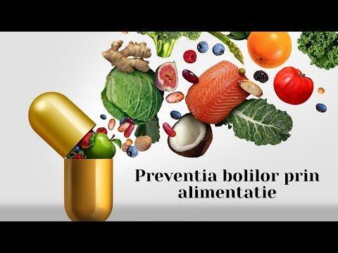 Cum putem preveni aparitia bolilor prin alimentatie?