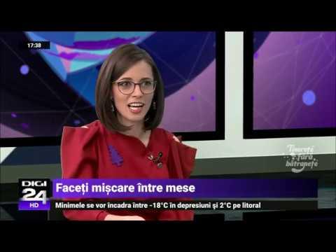 Dr Mihaela Posea discuta cu Izabela Panescu despre meniul de Craciun