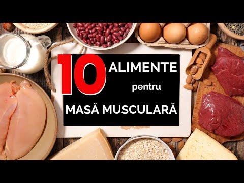 10 alimente pentru masă musculară