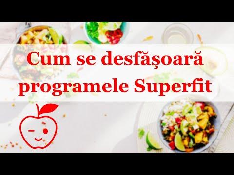 Cum se desfasoara programele de nutritie Superfit