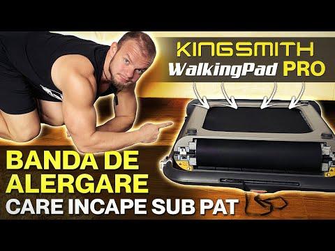 Banda de Alergare care Incape sub Pat | KINGSMITH WalkingPad R1 Pro
