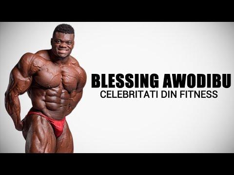BLESSING AWODIBU   Celebritati din Fitness #41