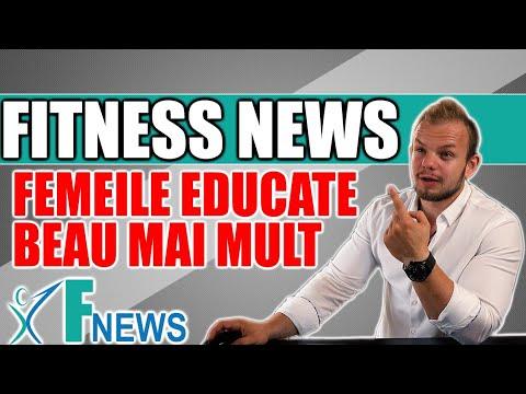 Femeile Educate Beau Mai Mult | Transplant de la Porci | Fitness News
