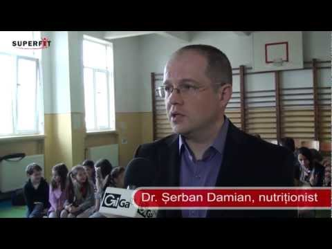 Scoala altfel – seminar de nutritie pentru copii – interviu dr. Damian