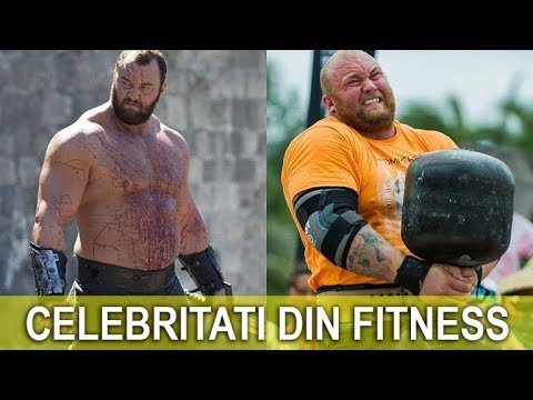 "Hafþór ""the Mountain"" Júlíus Björnsson | Celebritati din Fitness #22"